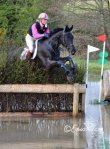 Katie competing Blackout at Ballindennisk, 2012